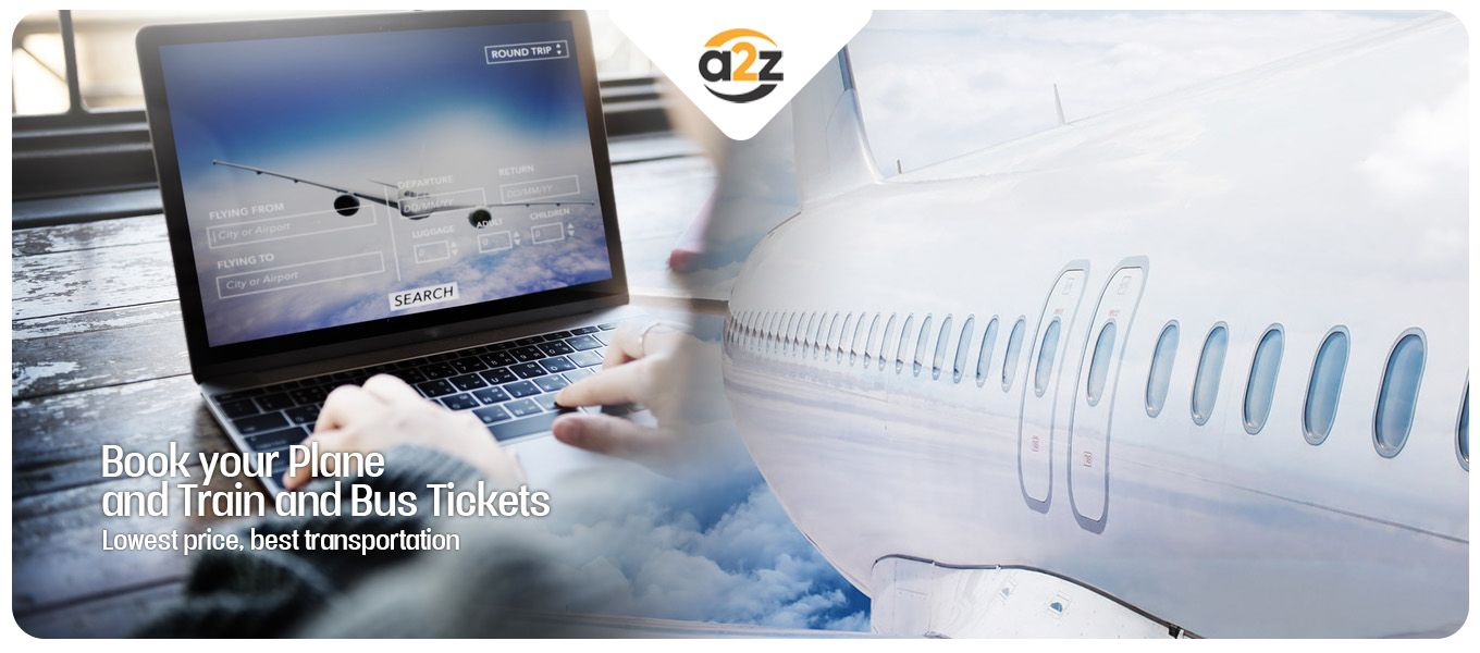 Book your plane and train bus tickets