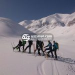 damavand ski tour in iran